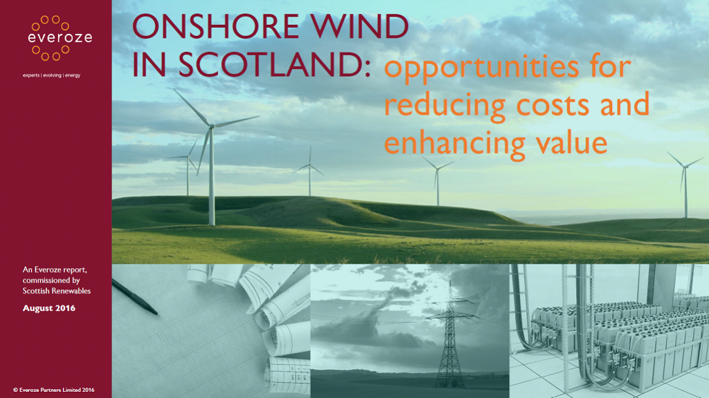 Onshore Wind in Scotland: Opportunities for Reducing Costs and Enhancing Value