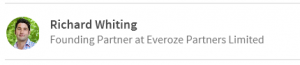 Richard Whiting - Founding Partner at Everoze Partners Ltd