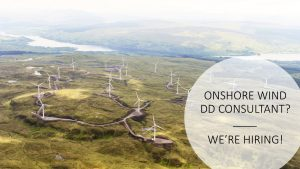Everoze Partners are looking for an Onshore wind consultant UK
