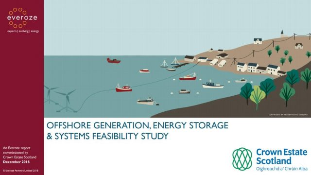 Feasibility study: offshore energy systems