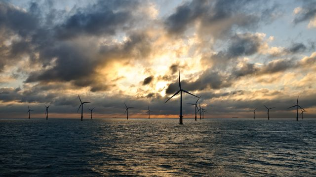 Windfarm in sunset (small)