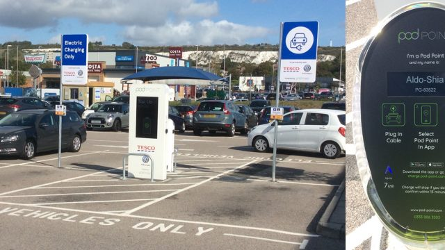 Everoze Partners Pod-point EV charging infrastructure