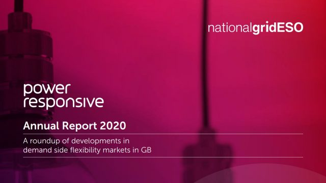Power Responsive Annual Report 2020